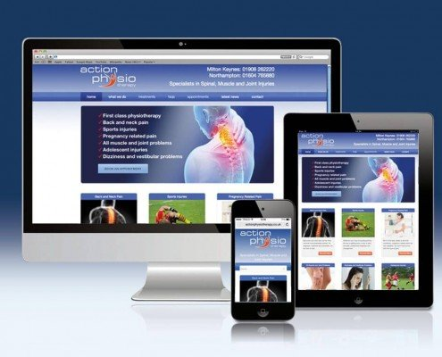 Website Design for Action Physiotherapy