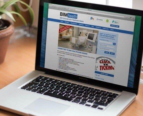 BIMhealth website design