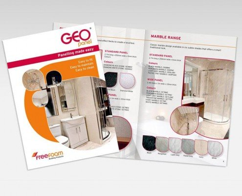 FREEFOAM brochure design