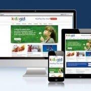 Website Design for Northampton Charity Kidsaid