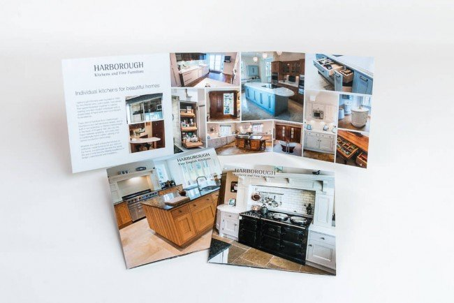 Website dessign for Harborough Kitchens
