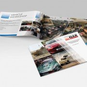 Brochure design for Northampton NAR Group
