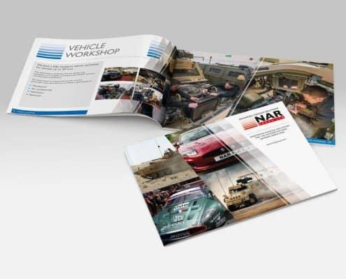 Brochure design for Northampton NAR Group