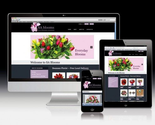 Website Design for Swansea Florists
