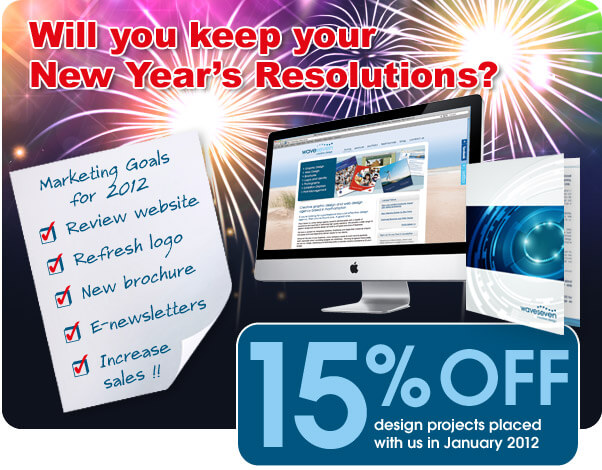 15% off website design and brochure design