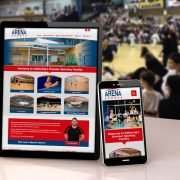 Arena Sports Website Design