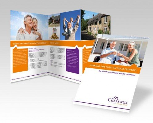 Brochure design for Chartwell Lifetime Leases
