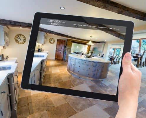 Website Design Market Harborough Kitchens