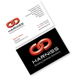 Harniss Business cards