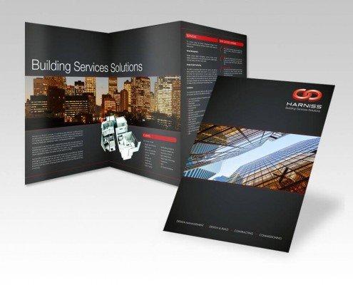 Brochure design for Harniss