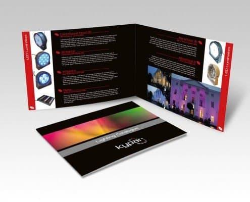 Brochure Design for Kypai Lighting