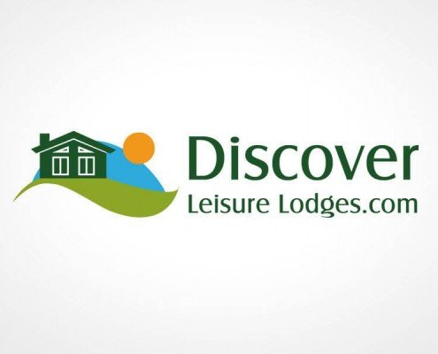 Logo Design for Discover Leisure Lodges