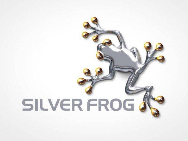 Silver Frog logo design