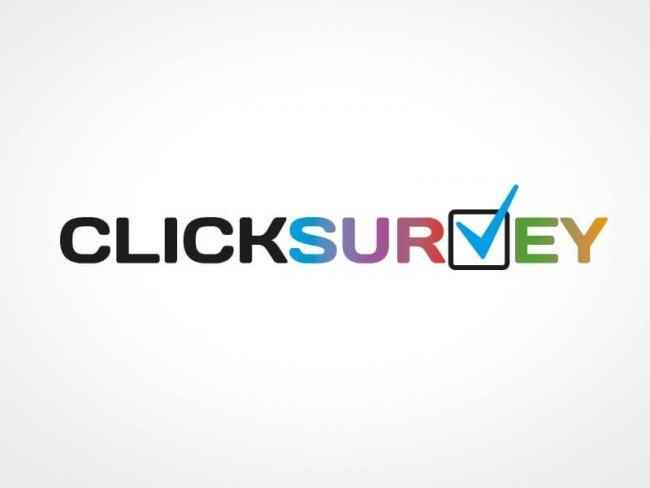 Logo design for ClickSurvey