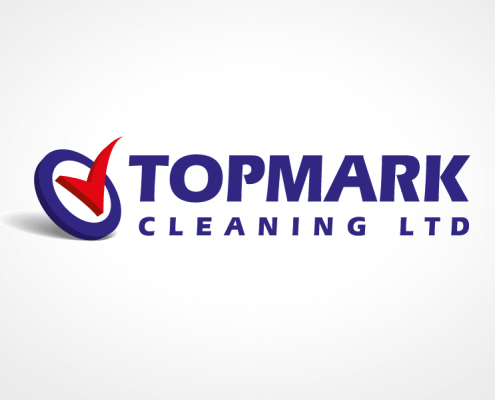 Logo design for Top Mark Cleaning
