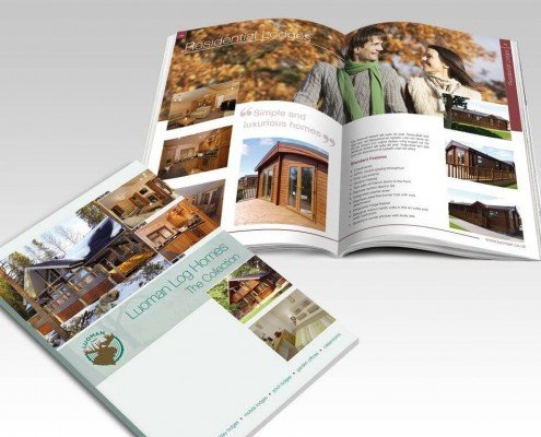 Luomans Brochure Design