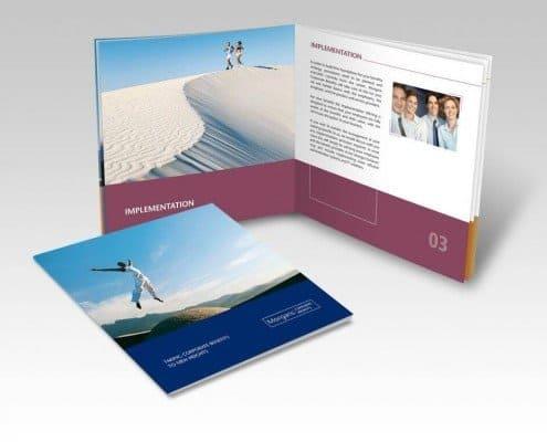Brochure design for Morgans CB
