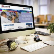 Responsive website design for Pad Print UK
