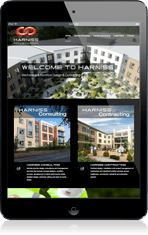 Website design for harniss