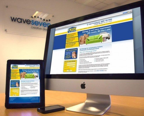 Website design The Self Store Centre