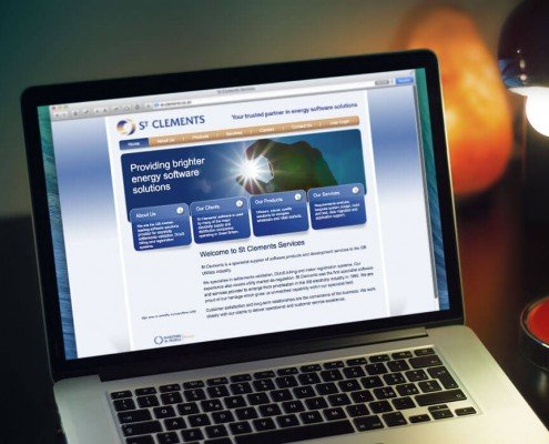 Website Design for St Clements