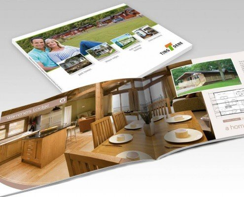 Brochure Design for Tingdene Homes