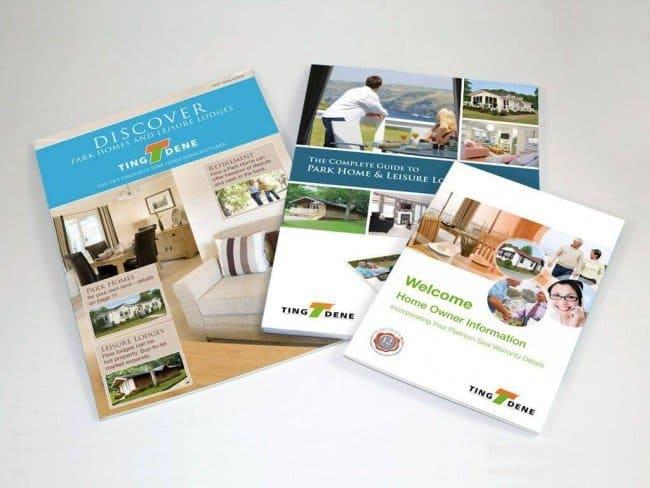 Tingdene magazine design