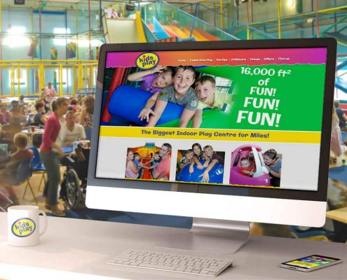 Website design for Kids Play Kettering